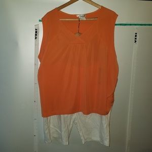 Tops - NWT Top and Shorts Bundle